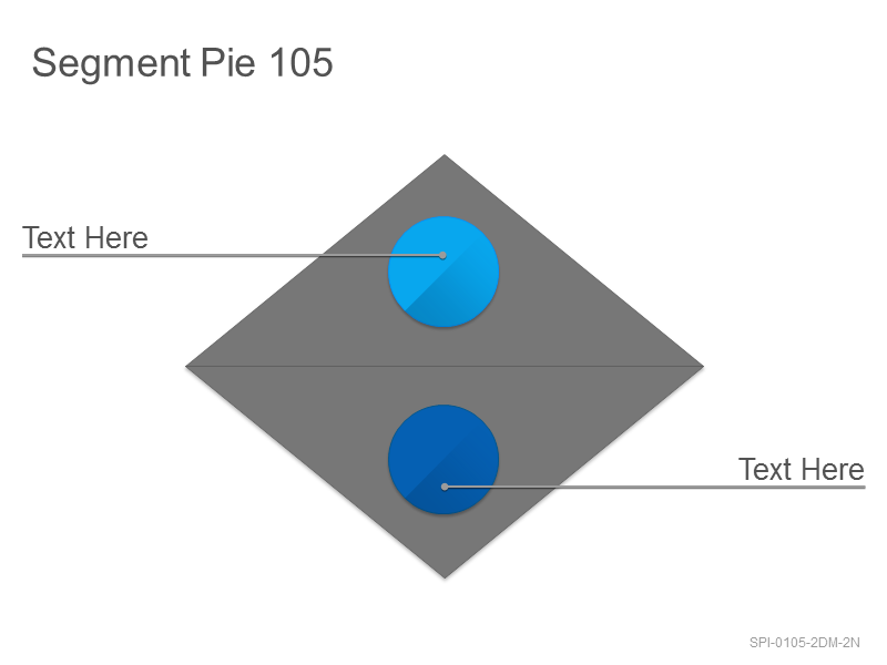 Segment Pie 105