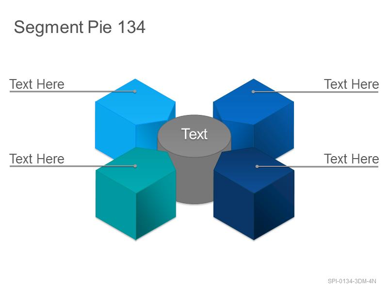 Segment Pie 134