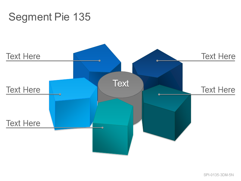 Segment Pie 135