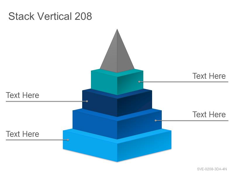 Stack Vertical 208