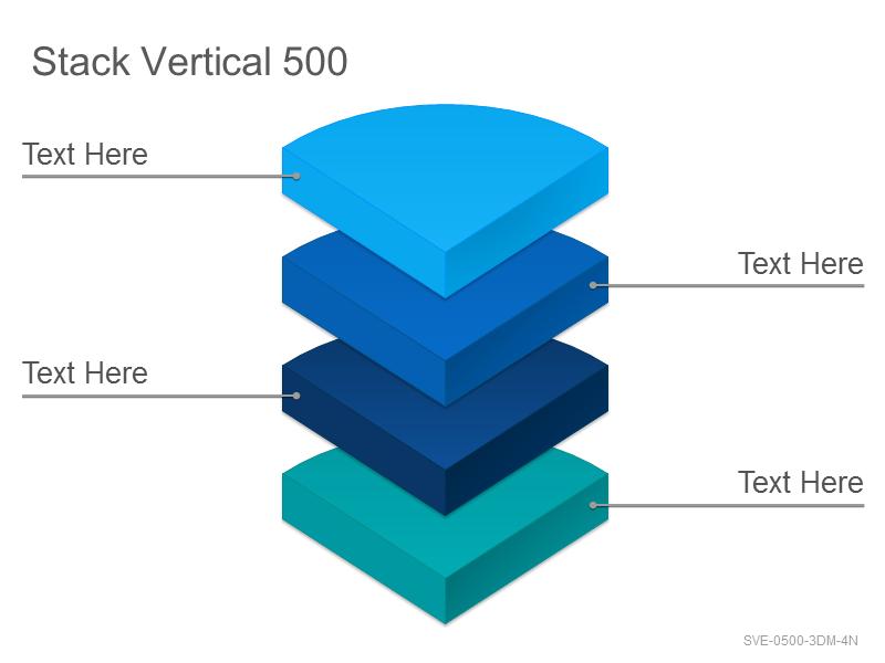 Stack Vertical 500